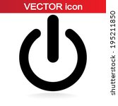 icon  vector illustration. flat ... | Shutterstock .eps vector #195211850