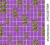 hand drawn seamless pattern...   Shutterstock .eps vector #1952187589