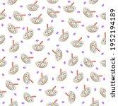 seamless pattern abstract... | Shutterstock .eps vector #1952194189