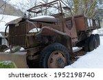 World War Ii Military Truck...