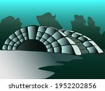 Vector Image Of A Small Stone...