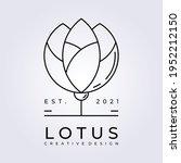 Lotus Flower River Lake Logo...