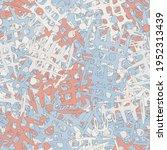 abstract urban seamless pattern ... | Shutterstock .eps vector #1952313439
