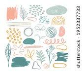 minimalist abstract nature art... | Shutterstock .eps vector #1952337733