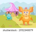 Cartoon Little Monsters In...
