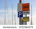Group Of Colorful Signs In A...
