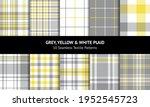 seamless tartan plaid pattern... | Shutterstock .eps vector #1952545723