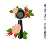 coffee machine holder vector... | Shutterstock .eps vector #1952656033