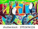 Drawn Bright Multi Colored...