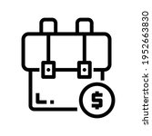 icon price with style outline