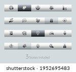 ecology and renewable energy  ... | Shutterstock .eps vector #1952695483