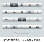 furniture icons   classic... | Shutterstock .eps vector #1952695486