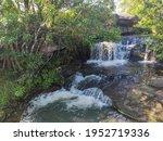 Top View On Sang Chan Waterfall ...
