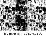 black and white grunge... | Shutterstock .eps vector #1952761690