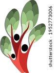 family tree illustration... | Shutterstock .eps vector #1952773006