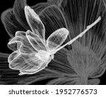 abstract flowers macro... | Shutterstock . vector #1952776573
