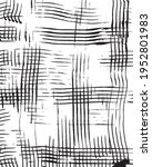 ink dirty checkered texture... | Shutterstock .eps vector #1952801983