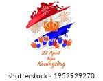 translation  april 27  happy... | Shutterstock .eps vector #1952929270