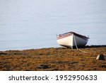 A Rowboat On The  Shore