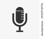 transparent microphone icon png ...