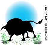eps 10 vector illustration of... | Shutterstock .eps vector #195297854