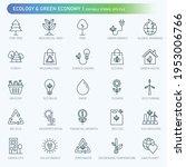 ecology  environmental editable ... | Shutterstock .eps vector #1953006766