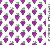 grape. seamless pattern for... | Shutterstock .eps vector #1953081289
