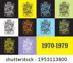 design 1970-1979 aged to perfection original part t-shirt