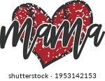 Baseball Mama Heart   Baseball...