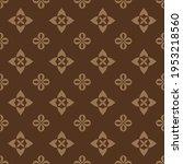 seamless vector pattern design. ... | Shutterstock .eps vector #1953218560