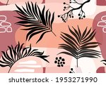 seamless pattern with abstract...   Shutterstock .eps vector #1953271990
