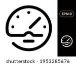 clock vector stylish line icon...