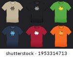 bitcoin and saving piggy bank ... | Shutterstock .eps vector #1953314713