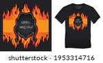 graphic design of black bbq and ... | Shutterstock .eps vector #1953314716