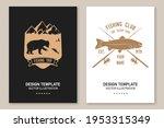 fishing sport club. vector...   Shutterstock .eps vector #1953315349