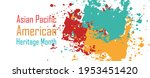 asian pacific american heritage ... | Shutterstock .eps vector #1953451420