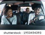 carpool ride share service app. ... | Shutterstock . vector #1953454393