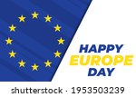 europe day is a day celebrating ... | Shutterstock .eps vector #1953503239