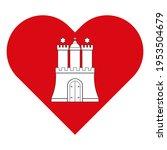 vector illustration icon. heart ... | Shutterstock .eps vector #1953504679