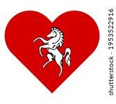 vector illustration icon. heart ... | Shutterstock .eps vector #1953522916