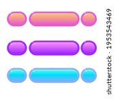 game ui cute colorful glossy...