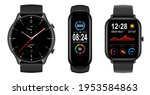 smartwatch collection ... | Shutterstock .eps vector #1953584863