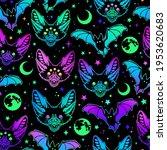 seamless pattern of... | Shutterstock .eps vector #1953620683