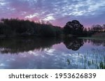 Sunrise At The Ornamental Lake...