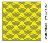 yellow geometric patterns....   Shutterstock .eps vector #1953645250