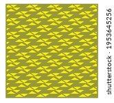 yellow geometric patterns....   Shutterstock .eps vector #1953645256
