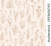 Wildflower Seamless Pattern...
