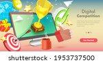 3d vector conceptual...   Shutterstock .eps vector #1953737500