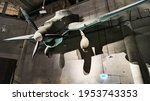 Small photo of GDANSK, POLAND - August 10, 2020: Junkers or stuka , German dive bomber and ground attack aircraft used during world war II kept in world war museum