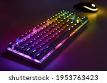 Rgb Gaming Keyboard. Bright...